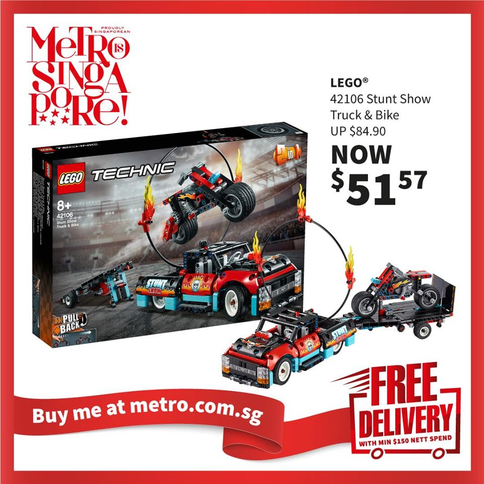 METRO Singapore Great LEGO Sale Up to 30% Off | Why Not Deals 9