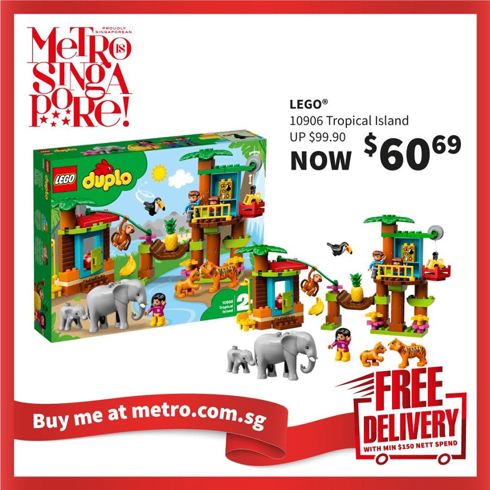 METRO Singapore Great LEGO Sale Up to 30% Off | Why Not Deals 10