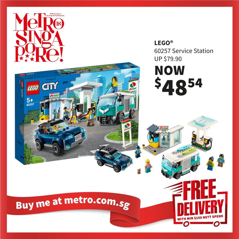 METRO Singapore Great LEGO Sale Up to 30% Off | Why Not Deals 11