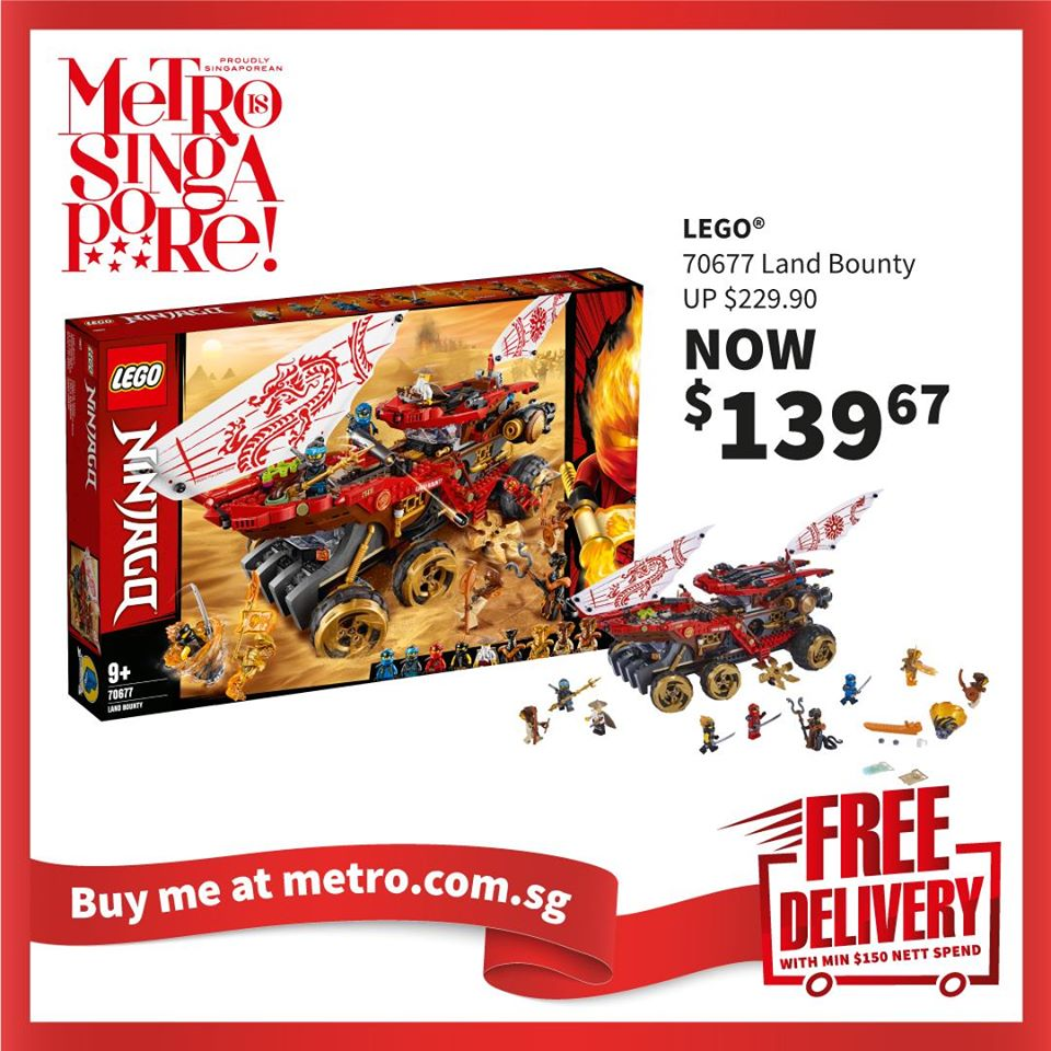 METRO Singapore Great LEGO Sale Up to 30% Off | Why Not Deals 1