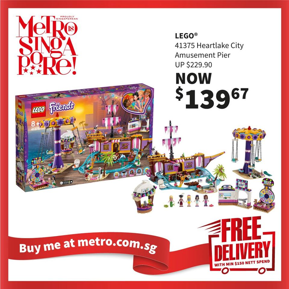 METRO Singapore Great LEGO Sale Up to 30% Off | Why Not Deals 2