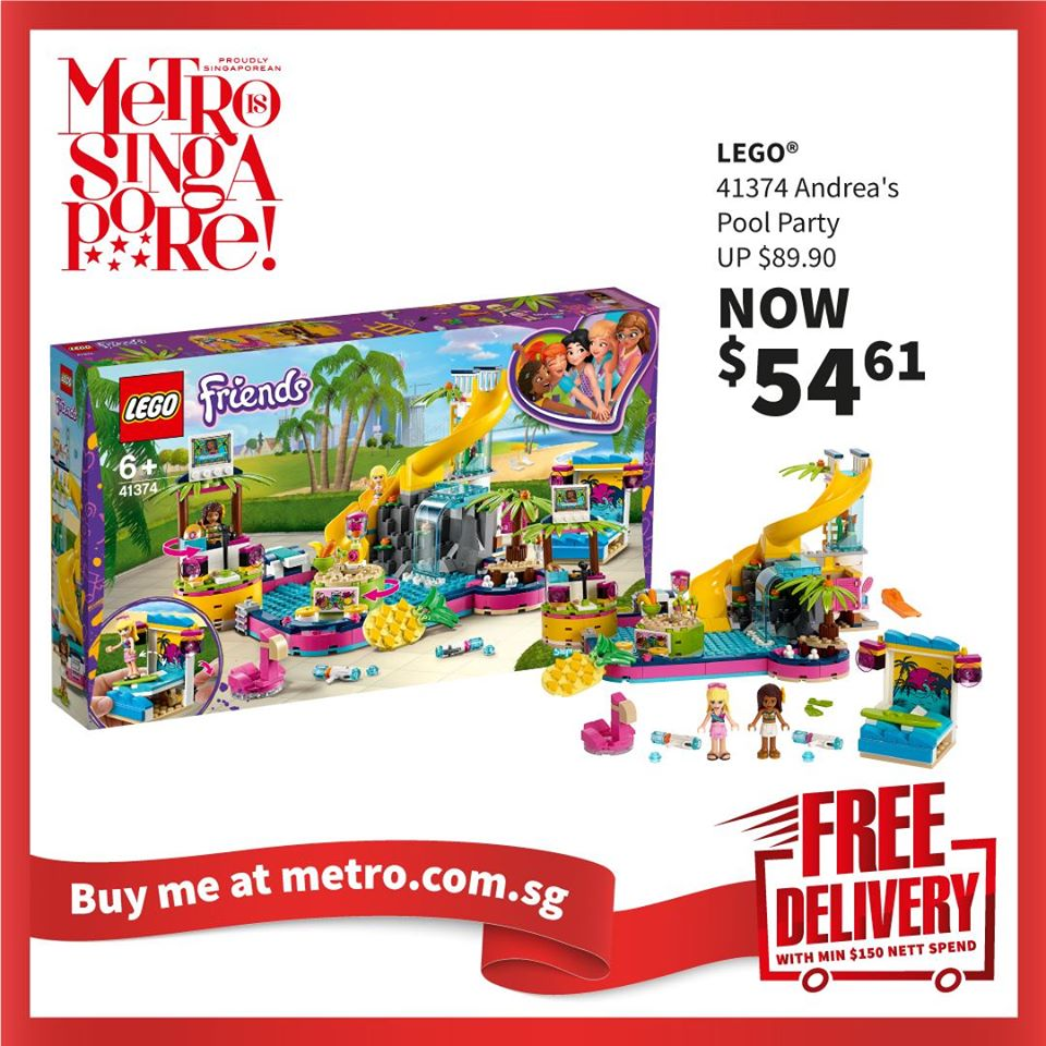 METRO Singapore Great LEGO Sale Up to 30% Off | Why Not Deals 3