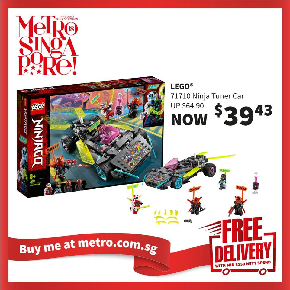 METRO Singapore Great LEGO Sale Up to 30% Off | Why Not Deals 4