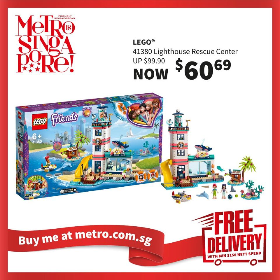 METRO Singapore Great LEGO Sale Up to 30% Off | Why Not Deals 5