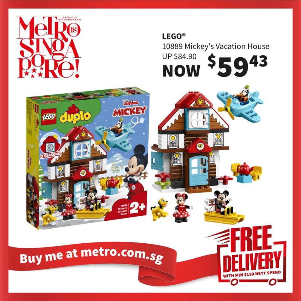 METRO Singapore Great LEGO Sale Up to 30% Off | Why Not Deals 6