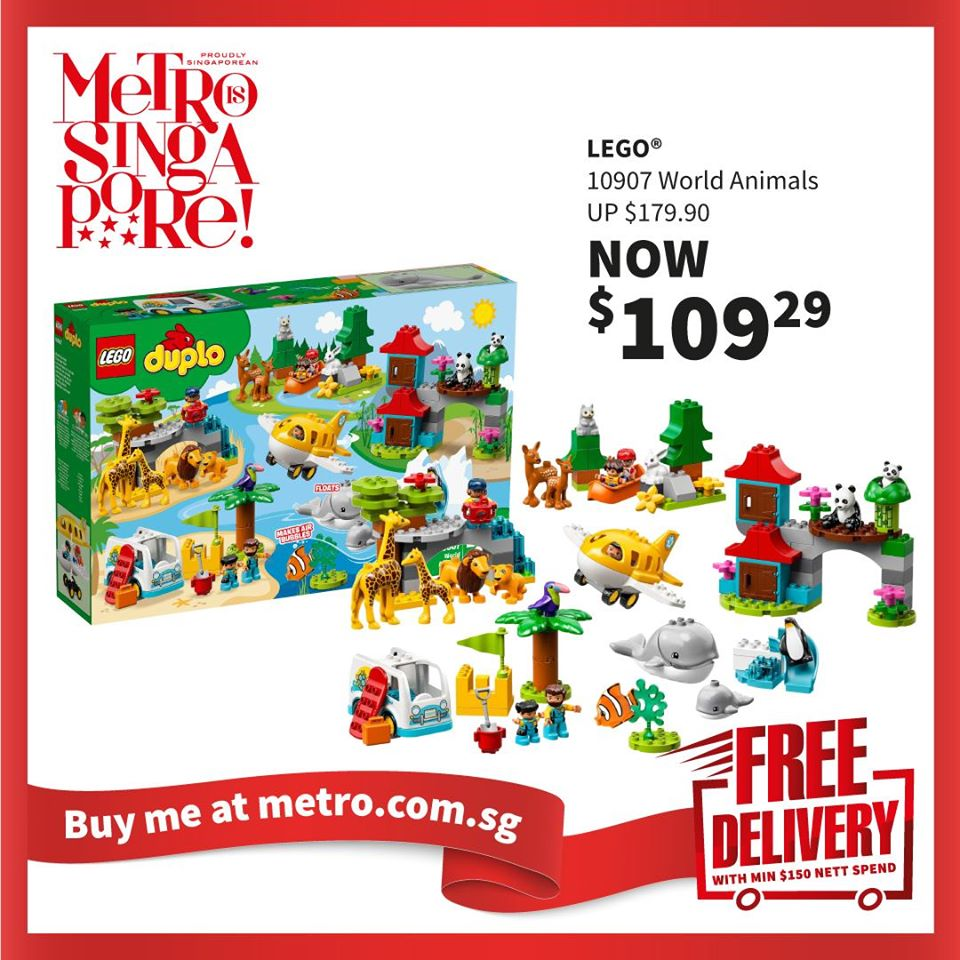 METRO Singapore Great LEGO Sale Up to 30% Off | Why Not Deals 7
