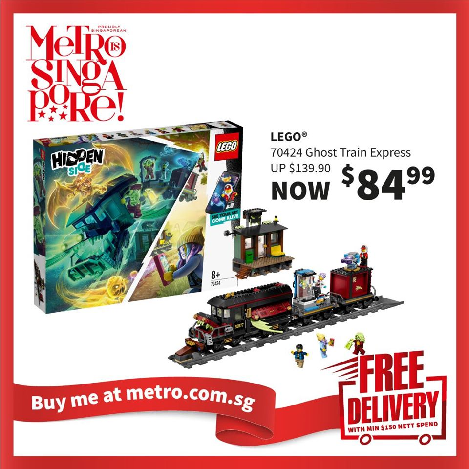 METRO Singapore Great LEGO Sale Up to 30% Off | Why Not Deals 8