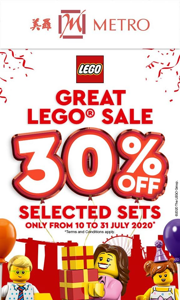 METRO Singapore Great LEGO Sale Up to 30% Off | Why Not Deals