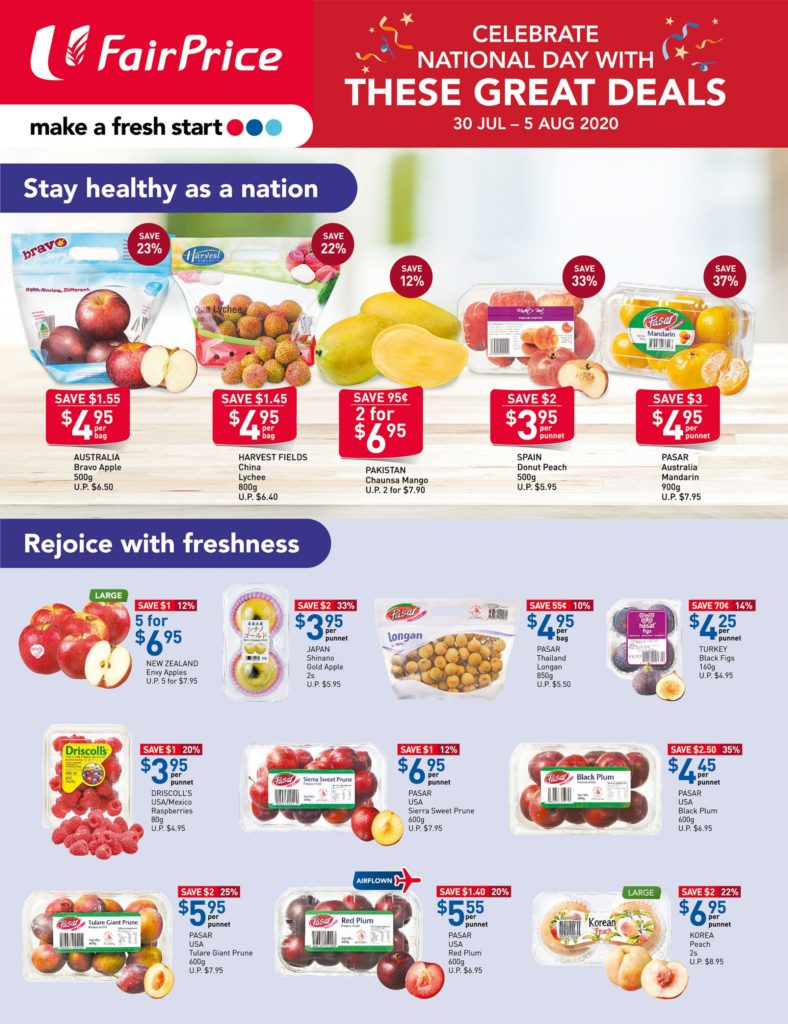 NTUC Fairprice SG Your Weekly Saver Promotions 30 Jul - 5 Aug 2020 | Why Not Deals 9