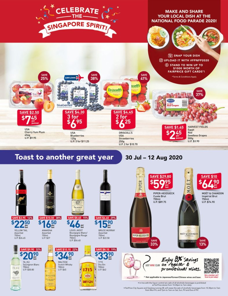 NTUC Fairprice SG Your Weekly Saver Promotions 30 Jul - 5 Aug 2020 | Why Not Deals 10
