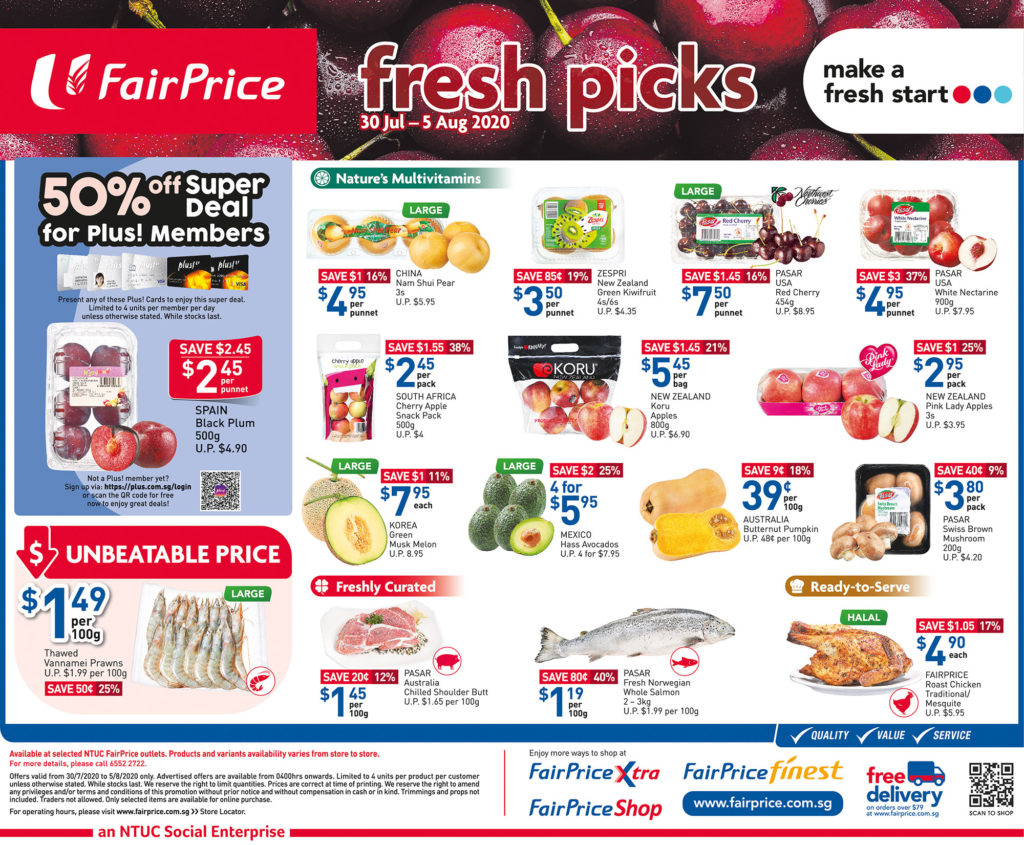 NTUC Fairprice SG Your Weekly Saver Promotions 30 Jul - 5 Aug 2020 | Why Not Deals 11