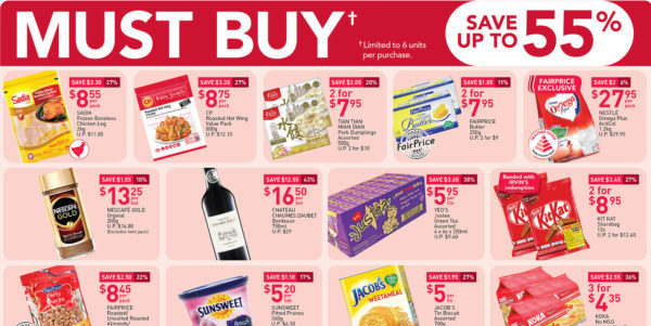 NTUC Fairprice SG Your Weekly Saver Promotions 30 Jul – 5 Aug 2020