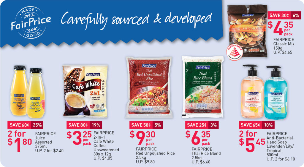 NTUC Fairprice SG Your Weekly Saver Promotions 30 Jul - 5 Aug 2020 | Why Not Deals 2