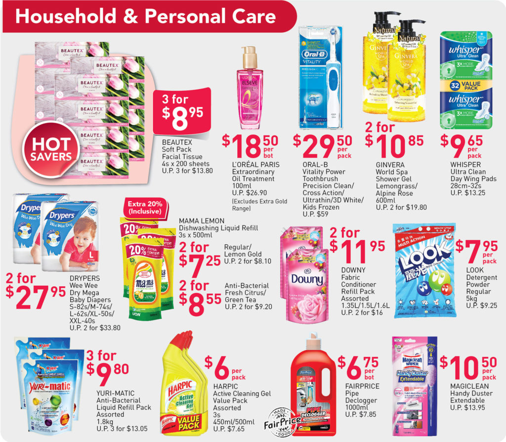NTUC Fairprice SG Your Weekly Saver Promotions 30 Jul - 5 Aug 2020 | Why Not Deals 4