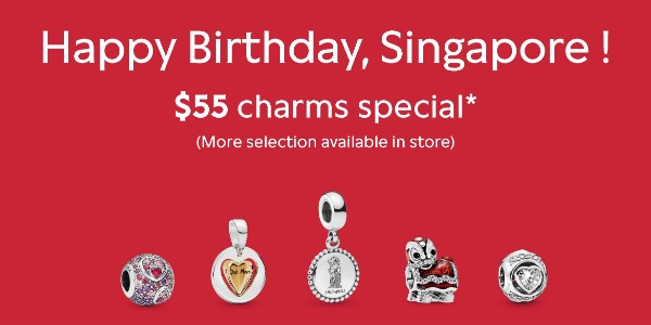 Pandora's National Day $55 Charm Special