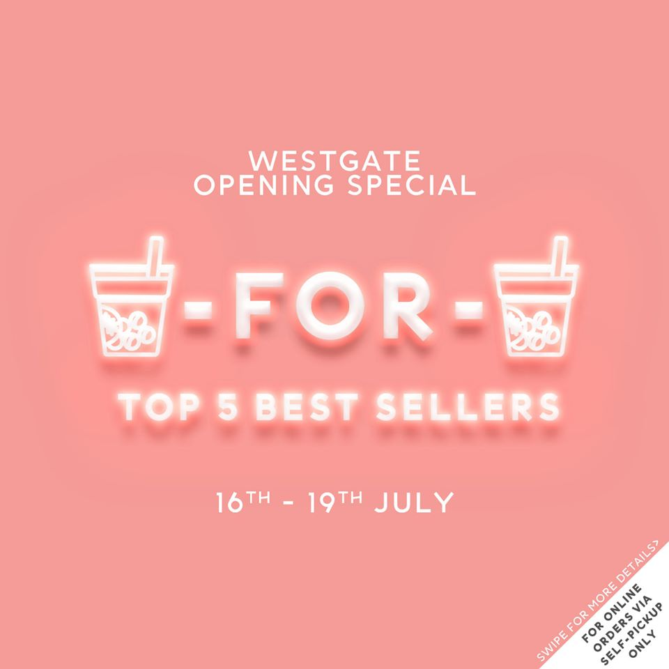 Playmade SG is having a 1-for-1 Promotion For The Top 5 Drinks 16-19 Jul 2020 | Why Not Deals