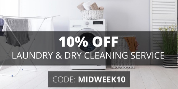 Sendhelper Singapore Get 10% OFF LAUNDRY & DRY CLEANING SERVICE Promotion ends 31 Aug 2020