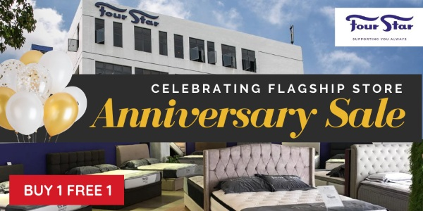 $499 Queen Size Mattress and more great deals | Four Star's 3rd Anniversary Sale!