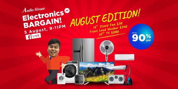 Audio House Electronics +1 Bargain! August Edition