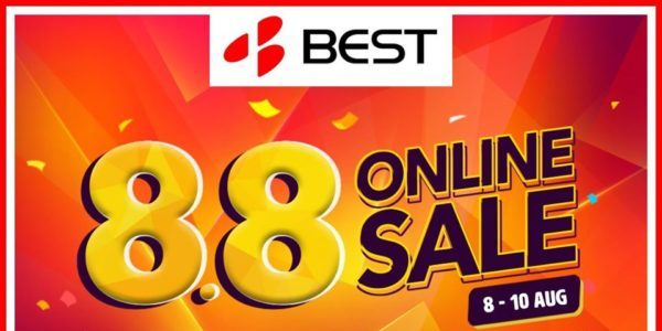 BEST Denki Singapore 8.8 Online Sale Up to $108 Off SITEWIDE Promotion 8-10 Aug 2020