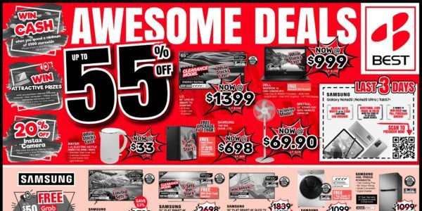 BEST Denki Singapore Post National Day Deals Up To 55% Off Promotion