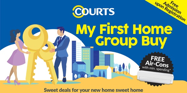 COURTS My First Home Group Buy Event @ COURTS MEGASTORE