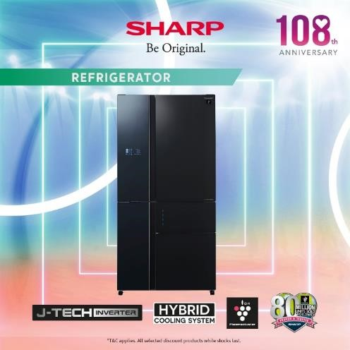Sharp Celebrates 108 Anniversary by Giving Out Up To $17,000 OFF Sharp Products from now till 30 Sep | Why Not Deals 1