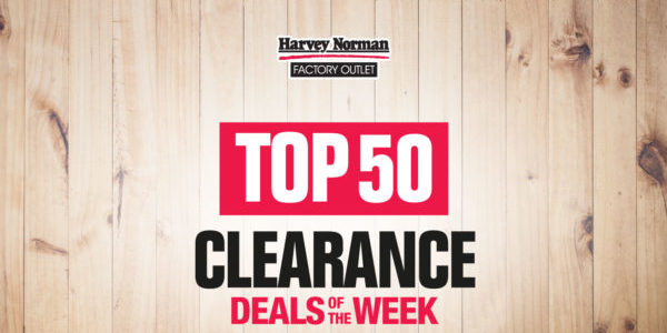 Harvey Norman Singapore Top 50 Clearance Deals of the Week Up to 70% Off Promotion ends 2 Sep 2020