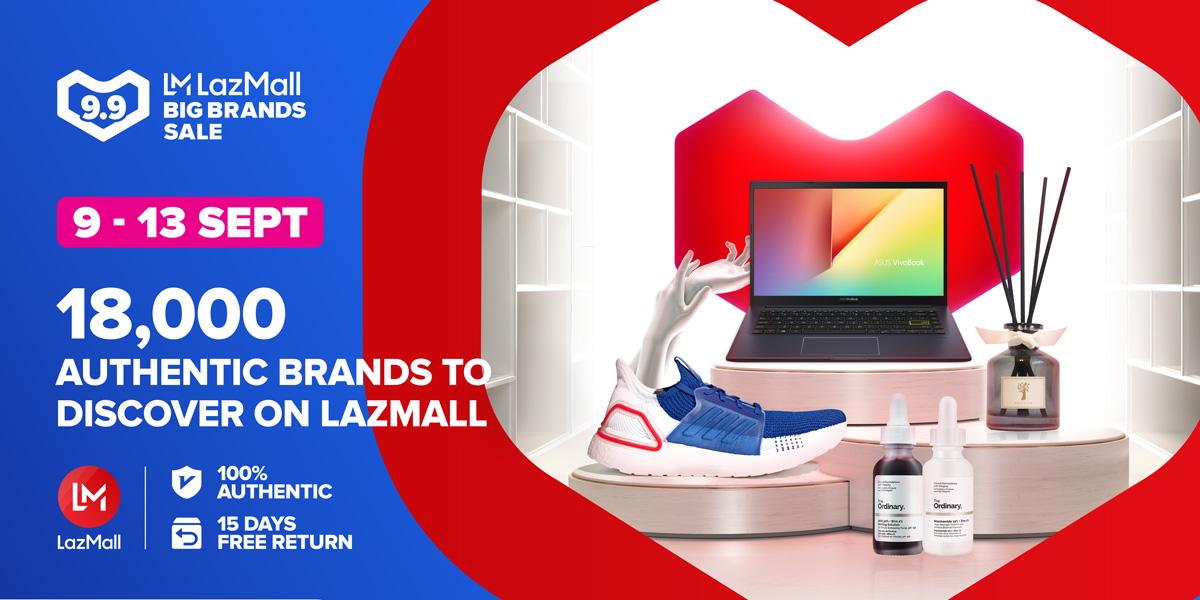 Lazada Singapore 9.9 Big Brands Sale 9-13 Sep 2020
