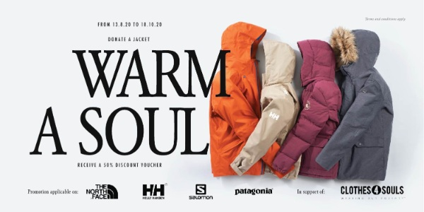 LIV ACTIV's Jacket Donation Program – WARM A SOUL is back to share the warmth this season