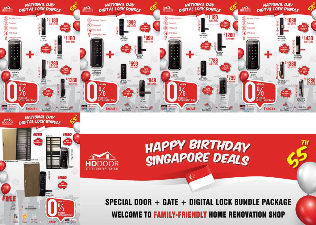 ONLINE + STOREWIDE NATIONAL DAY SPECIAL DOOR, GATE & DIGITAL LOCK BUNDLE PROMOTION SALE 2020 | Why Not Deals
