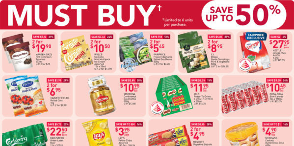 NTUC FairPrice Singapore Your Weekly Saver Promotions 27 Aug – 2 Sep 2020