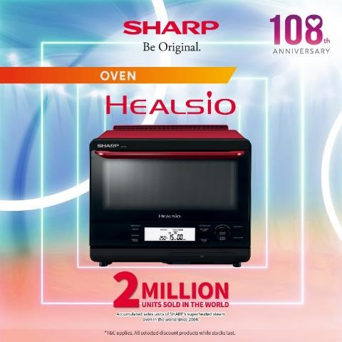 Sharp Celebrates 108 Anniversary by Giving Out Up To $17,000 OFF Sharp Products from now till 30 Sep | Why Not Deals 2