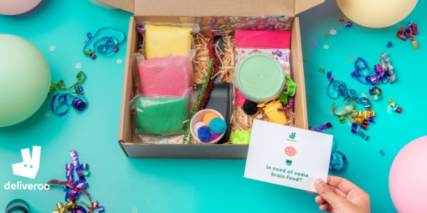 Redeem a free Deliveroo Brain Box from 4 September at Deliveroo Editions Katong!