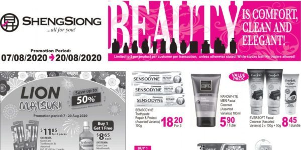 Sheng Siong Singapore Beauty Fair Promotion 07-20 Aug 2020