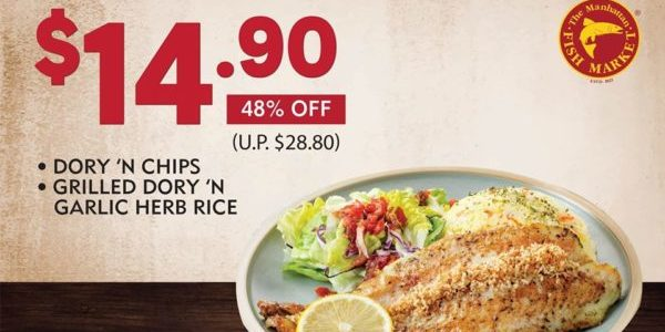 The Manhattan FISH MARKET Singapore National Day Celebratory Special Deals ends 30 Sep 2020