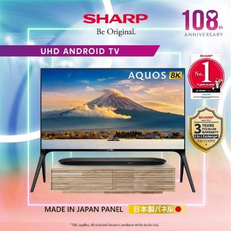 Sharp Celebrates 108 Anniversary by Giving Out Up To $17,000 OFF Sharp Products from now till 30 Sep | Why Not Deals 4