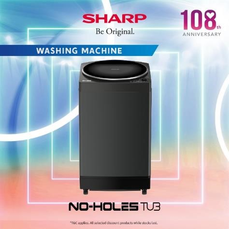 Sharp Celebrates 108 Anniversary by Giving Out Up To $17,000 OFF Sharp Products from now till 30 Sep | Why Not Deals 5