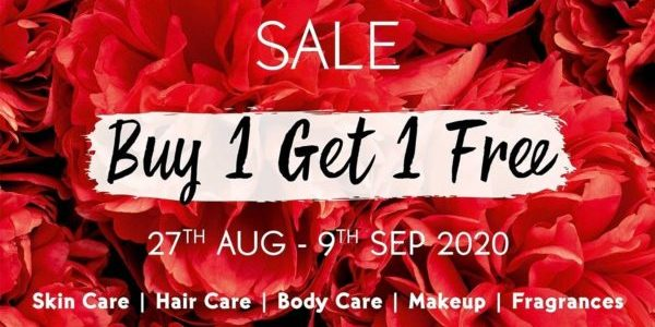 Yves Rocher Singapore Buy 1 Get 1 FREE Promotion 27 Aug – 9 Sep 2020