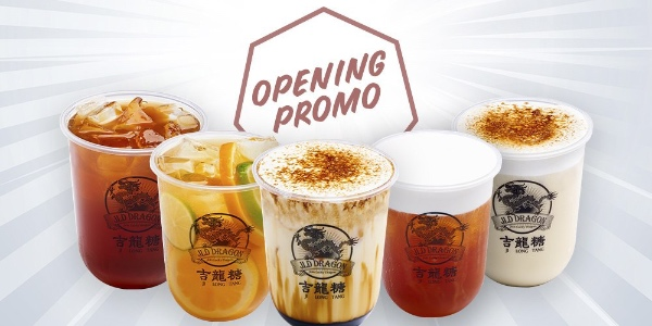 JLD Dragon Singapore 1-FOR-1 ON ANY DRINKS Promotion