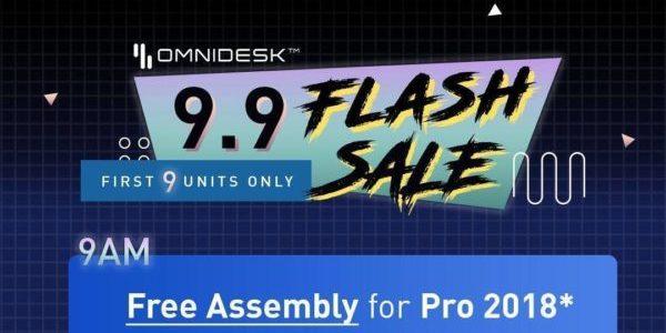 [9.9 FLASH SALE ALERT] Omnidesk Singapore is offering FREE ASSEMBLY Promotion
