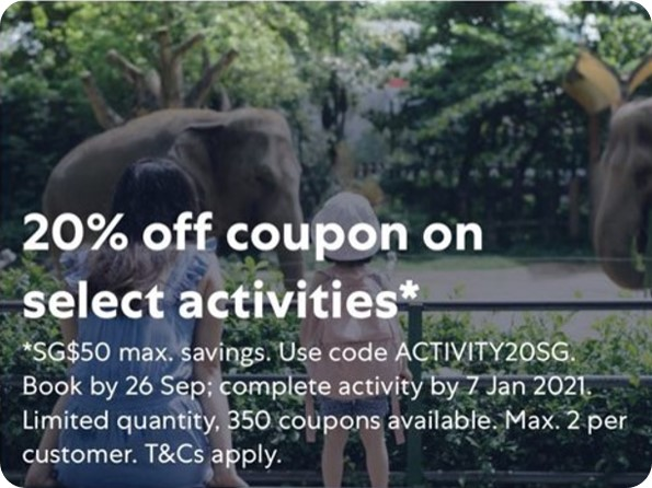 Rediscover Singapore Afresh with 20% Off Activities with Expedia!   Why Not Deals 1