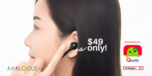 Analogue+ 4 Days Exclusive for $49 True Wireless Earphone
