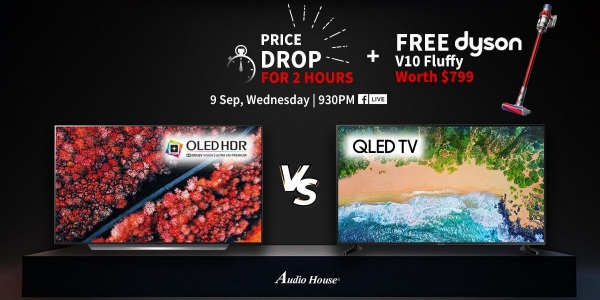 Audio House QLED vs OLED 9.9 Price Drop Special
