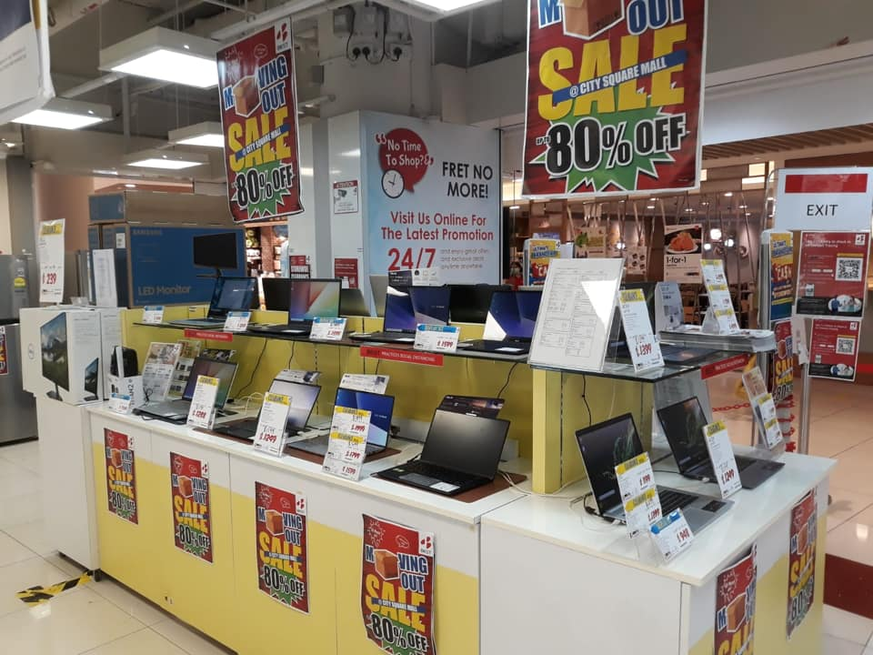 BEST Denki Singapore City Square Mall MOVING OUT SALE Up To 80% Off Promotion ends 20 Sep 2020 | Why Not Deals 6