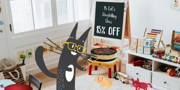 Cat & the Fiddle Singapore Teacher's Day 15% Off Promotion 1-4 Sep 2020