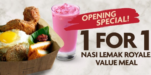 Enjoy exclusive deals when you order from these F&B outlets via YQueue!