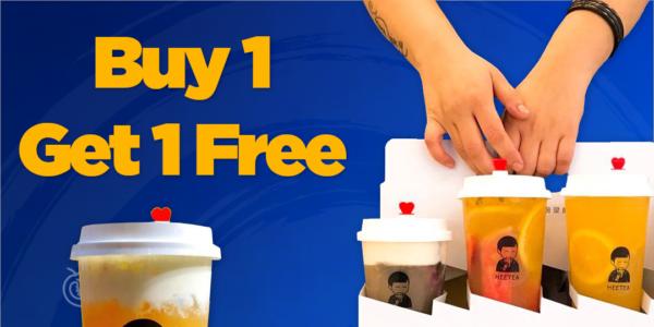 HEETEA Singapore Buy 1 Get 1 FREE 9.9 Promotion 9-11 Sep 2020