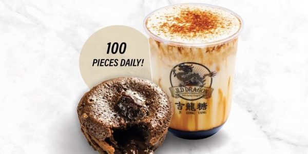 JLD Dragon Singapore FREE chocolate lava cake with cheese cream Promotion 25-27 Sep 2020