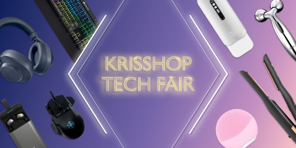KrisShop Tech Fair Is Happening Now With Up To 50% Off Promotions
